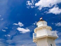 Drewniana latarnia morska Zdjęcia Royalty Free
