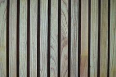 Drewniana lath ściana fotografia royalty free
