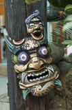 Drewniana maska Obrazy Stock