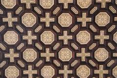 Drewniana mozaika Obraz Stock