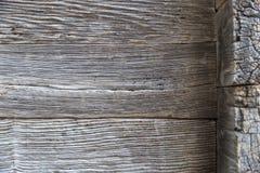 Drewniana obdrapana ściana stare deski zdjęcia royalty free