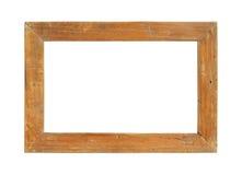 Drewniana obrazek rama Fotografia Stock