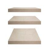 Drewniana półka dla tła Tło dla produktu pokazu pojęcia Obrazy Stock