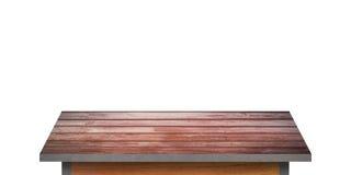 Drewniana półka dla tła Tło dla produktu pokazu pojęcia Obraz Stock
