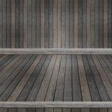 Drewniana półka dla tła Tło dla produktu pokazu pojęcia Obraz Royalty Free