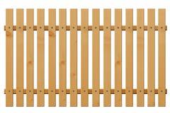 Drewniana płotowa vertical kropla Zdjęcia Stock