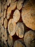 Drewniana Paczka Zdjęcia Stock