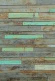 Drewniana pal ściana Fotografia Stock