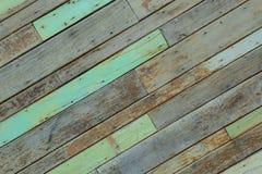 Drewniana pal ściana Zdjęcie Stock