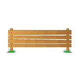 Drewniana pastylka Obrazy Stock