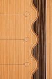 Drewniana podłoga, twarde drzewo podłoga szczegół Zdjęcia Stock