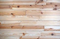 Drewniana podłoga z gwoździami Obraz Royalty Free