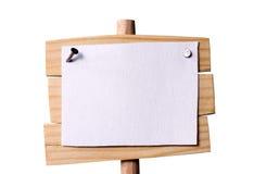 Drewniana pointer uprawa zdjęcia stock