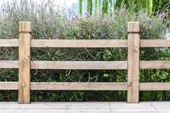 Drewniana poręczówka Zdjęcie Stock