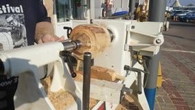 Drewniana przerobowa maszyna zbiory
