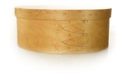 drewniana pudełkowata biżuteria Fotografia Royalty Free