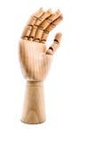 Drewniana ręka Obrazy Stock