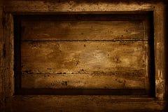 Drewniana rama Fotografia Stock