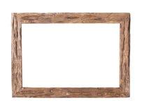 Drewniana rama zdjęcia stock
