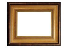 drewniana ramowa fotografia Zdjęcia Royalty Free