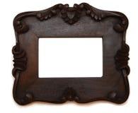 drewniana ramowa fotografia Obrazy Stock