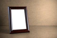 drewniana ramowa stara fotografia Obraz Royalty Free