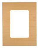drewniana ramowej zdjęcie Obrazy Stock