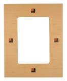 drewniana ramowej zdjęcie Zdjęcie Stock