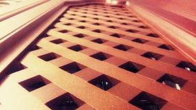 Drewniana siatka meble zdjęcie stock