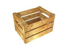 Drewniana skrzynka Zdjęcia Stock