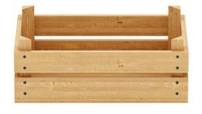 Drewniana skrzynka Obraz Stock