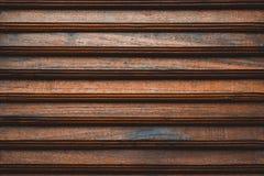 Drewniana slatted ogrodzenia, lath przodu gabloty wystawowej garderoba lub, fotografia royalty free