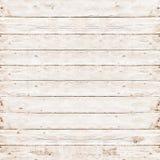 Drewniana sosnowa deska bielu tekstura Obraz Royalty Free