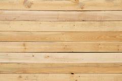 Drewniana sosnowa deska koloru żółtego tekstura Zdjęcia Stock