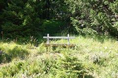 drewniana stanowiska badawczego Zdjęcia Royalty Free