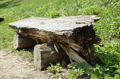 drewniana stanowiska badawczego Obrazy Stock