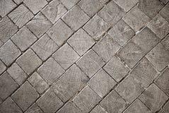 Drewniana stara blokowa tekstura z pęknięciami Zdjęcie Royalty Free