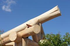 Drewniana struktura Fotografia Stock