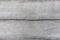 Drewniana szara tło tekstura wiele narysy obrazy royalty free