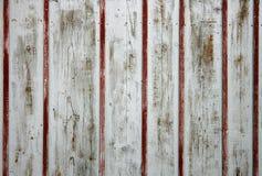 drewniana szczegół brama Obrazy Royalty Free