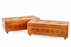 Drewniana szkatuła Obraz Stock