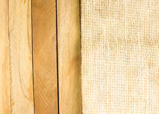 Drewniana tła i maty tła tekstura dalej w górę i na dół Fotografia Royalty Free