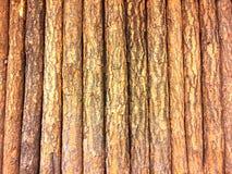 Drewniana tło ściana Obrazy Royalty Free