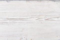 Drewniana tekstura, biały drewniany tło Fotografia Royalty Free