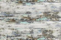 Drewniana tekstura, biały drewno zaszaluje tło obraz stock