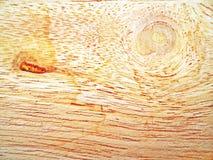 Drewniana tekstura i gnarl dla wzoru lub tła Zdjęcie Royalty Free