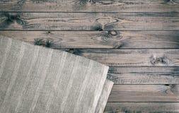 Drewniana tekstura i tkaniny tła tekstura Zdjęcie Stock