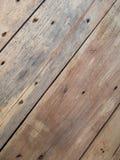 Drewniana tekstura kablowa cewa Obrazy Stock
