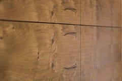 Drewniana tekstura kuchenny gabinetowy drzwi Zdjęcie Royalty Free
