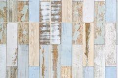 Drewniana tekstura podłoga z naturalnymi wzorami Zdjęcia Royalty Free